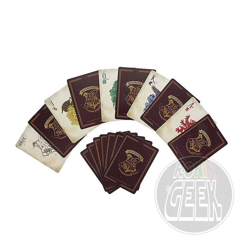 Harry Potter Playing Cards Hogwarts