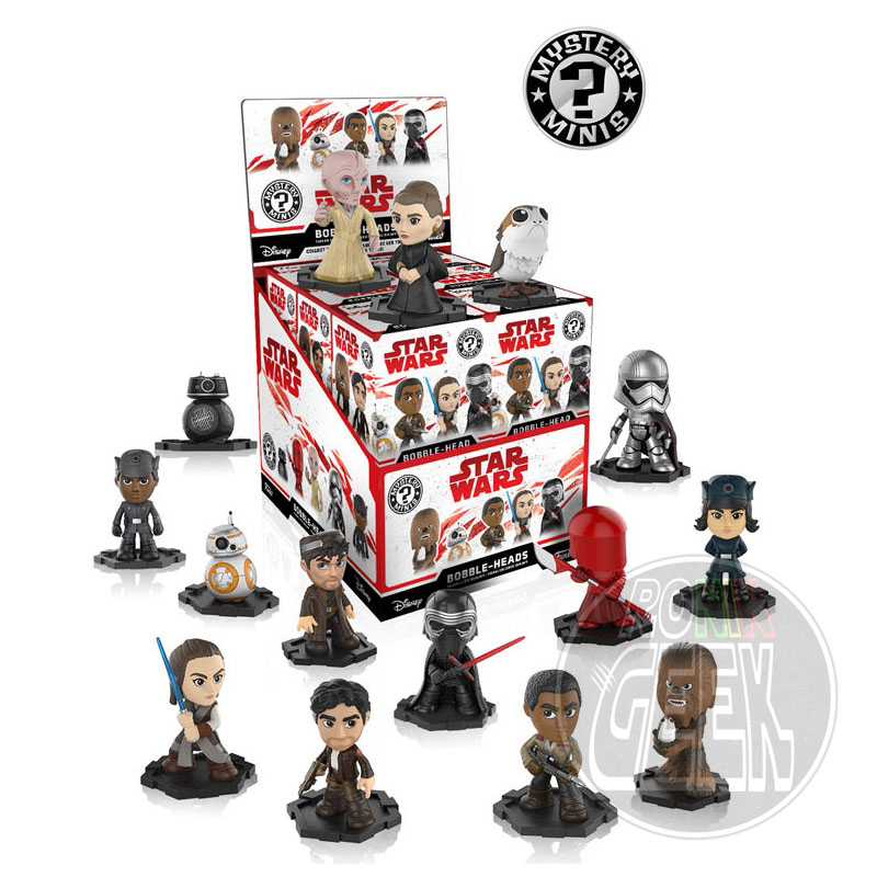 Funko POP! Star Wars Episode 8 The Last Jedi Mystery Minis