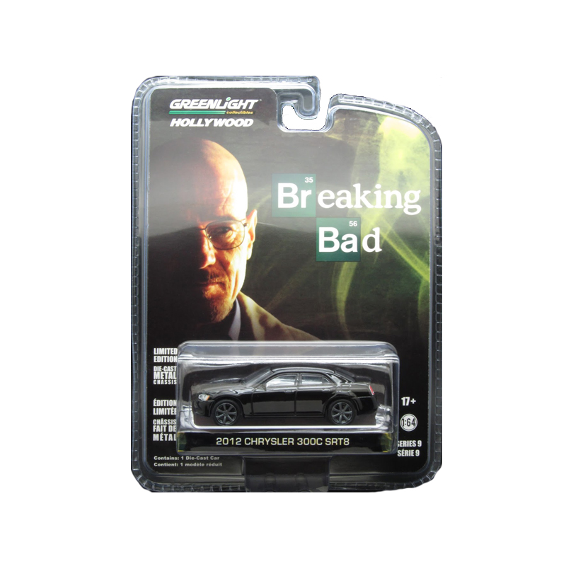 GREENLIGHT COLLECTIBLES Breaking Bad Diecast Model 1/64 2012 Chrysler 200 SRT-8
