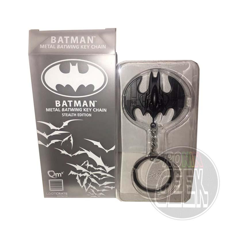DC Comics Metal Keychain Black Batwing LC Exclusive