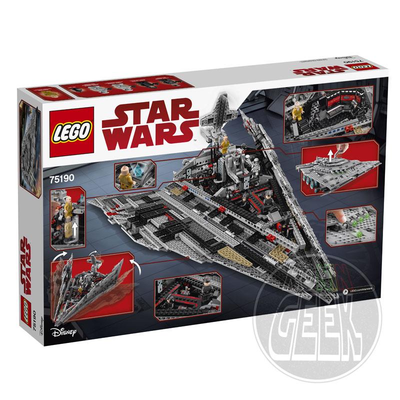 LEGO 75190 - First Order Star Destroyer