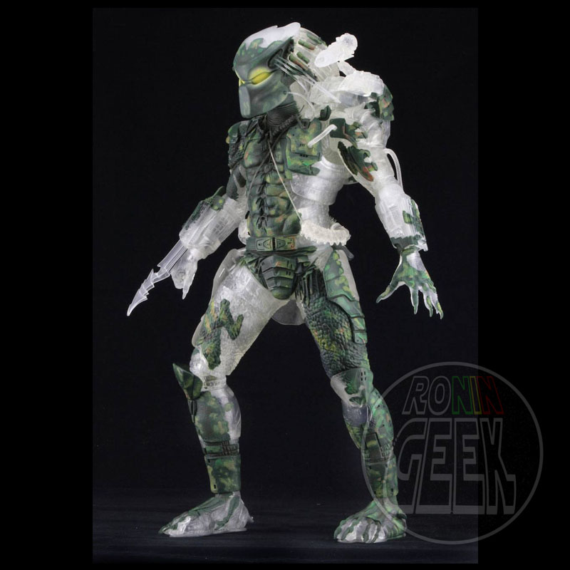NECA Predator 30th Anniversary - Jungle Demon Predator 1/4th Scale with LED Lights 50cm