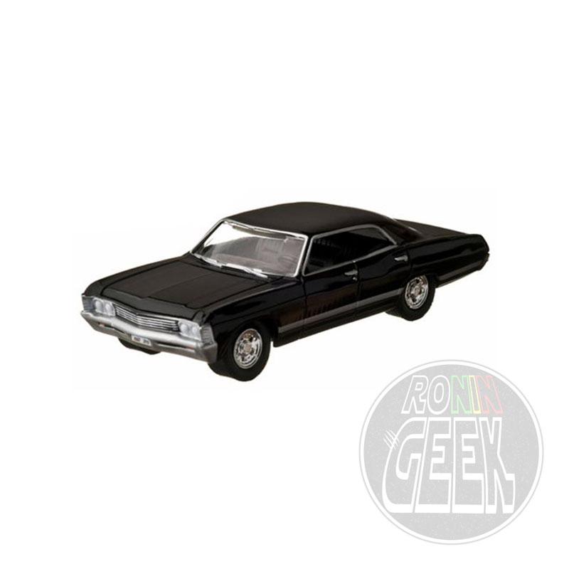 GREENLIGHT COLLECTIBLES Supernatural Diecast Model 1/64 1967 Chevrolet Impala Sedan