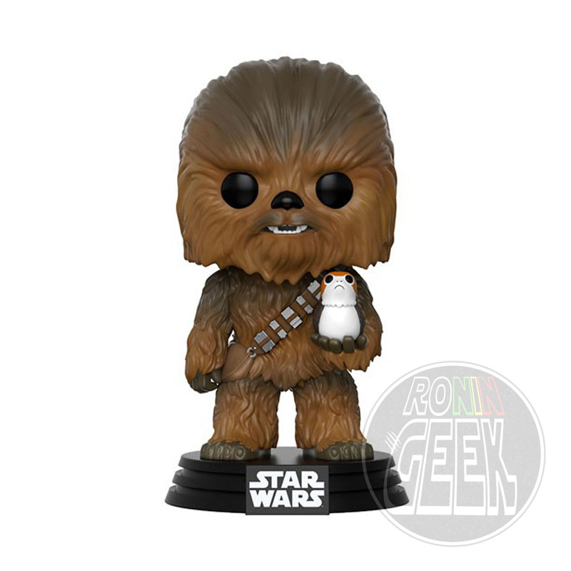 Funko POP! Star Wars Epi. VIII - Chewbacca with Porg