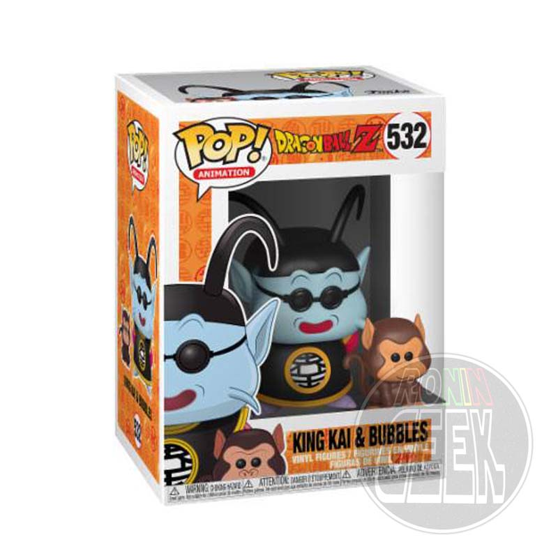 FUNKO POP! Animation: Dragonball Z - King Kai & Bubbles