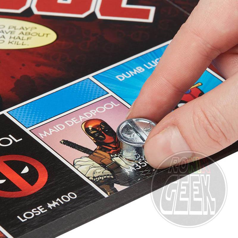 HASBRO Monopoly: Deadpool Edition