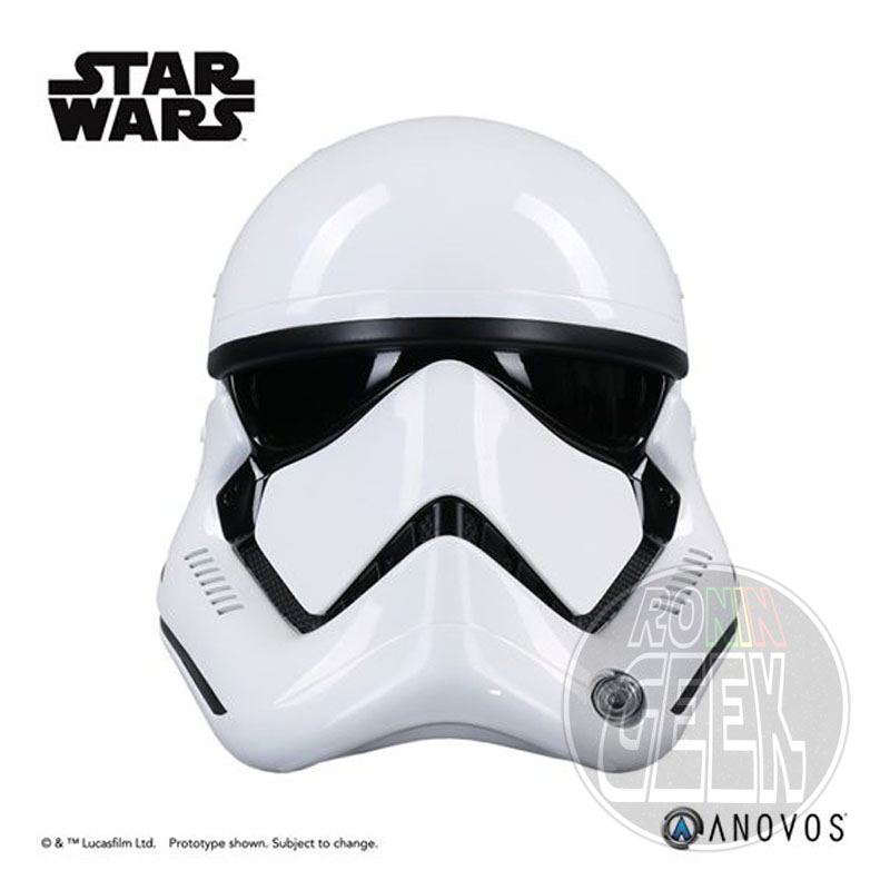 ANOVOS Star Wars Episode VII Replica 1/1 First Order Stormtrooper Helmet