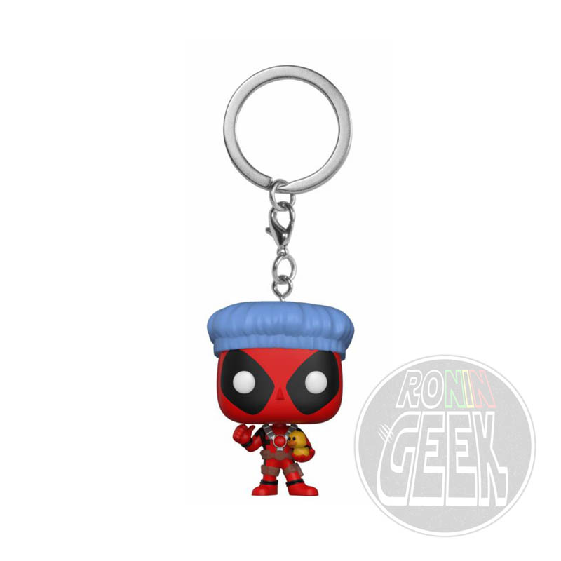 FUNKO POP! Keychain: Marvel  - Deadpool Bathtime