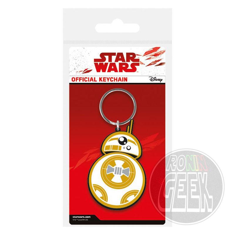 Star Wars Episode VIII Rubber Keychain BB-8