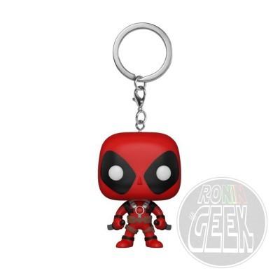 FUNKO POP! Keychain: Marvel - Deadpool with Swords