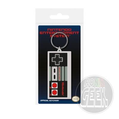 Nintendo Rubber Keychain NES Controller