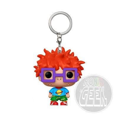FUNKO POP! Keychain: Rugrats - Chuckie