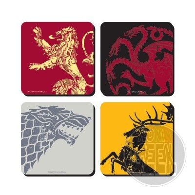 Game of Thrones Coaster 4-Pack