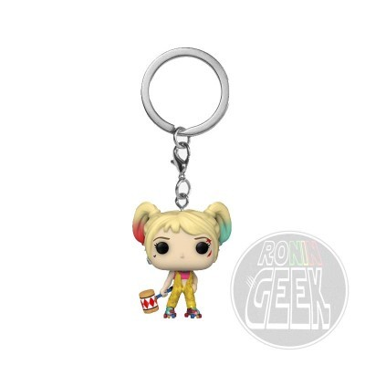 FUNKO POP! Keychain: DC Birds of Prey - Harley Quinn Boobytrap Battle