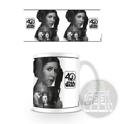 Caneca Star Wars 40th Anniversary (Princess Leia)