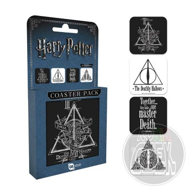 Harry Potter Coaster 4-pack Deathly