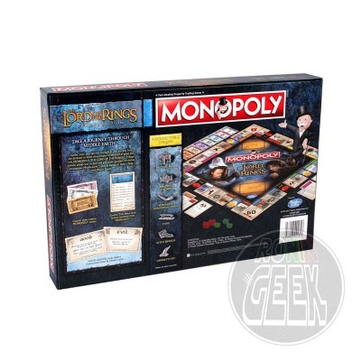 HASBRO Monopoly: Lord of the Rings Edition
