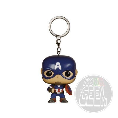FUNKO POP! Keychain: Avengers Age of Ultron - Captain America
