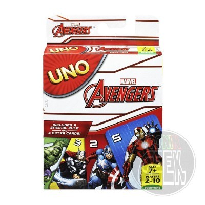 Marvel Avengers UNO Card Game