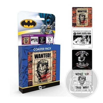 DC Comics Joker coaster pack