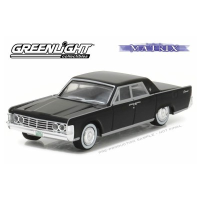 GREENLIGHT COLLECTIBLES Matrix Diecast Model 1/64 1965 Lincoln Continental