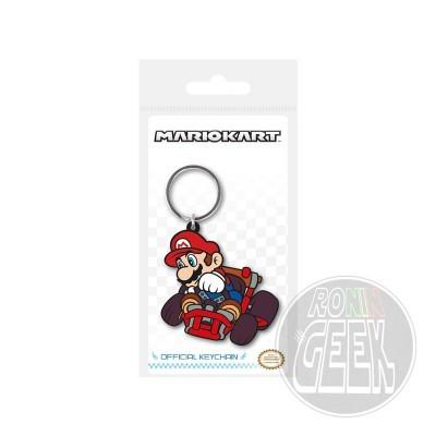 Mario Kart Rubber Keychain Drift
