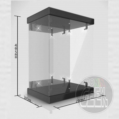 LEGEND STUDIO Master Light House Acrylic Display Case with Lighting for 1/6 Action Figures
