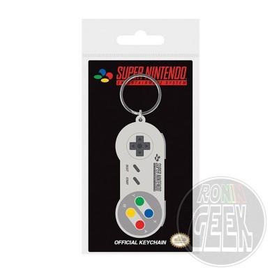 Nintendo Rubber Keychain SNES Controller