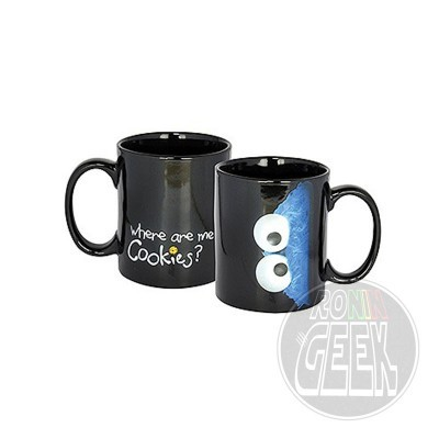 Caneca Sesame Street Mug Cookie Monster