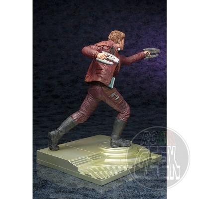 KOTOBUKIYA Marvel Guardians of the Galaxy 2 - Star Lord w/ Groot ARTFX Statue