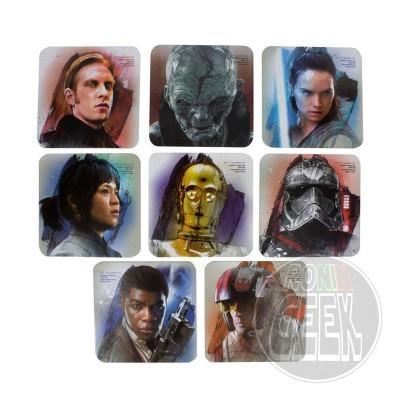 Star Wars Episode VIII Coaster 8-Pack
