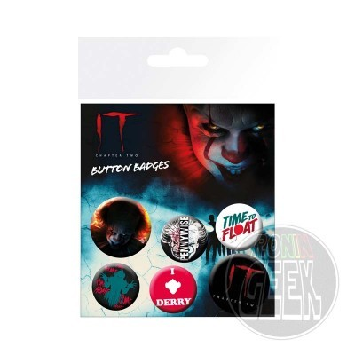It Pennywise badge 6-pack