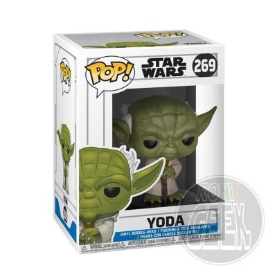 FUNKO POP! Star Wars Clone Wars - Yoda