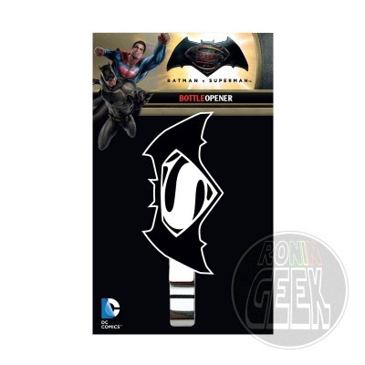 Batman v Superman Dawn of Justice Bottle Opener Logo
