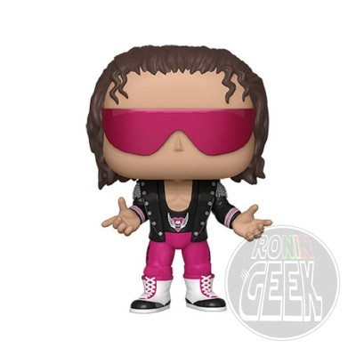 FUNKO POP! WWE - Bret Hart with Jacket