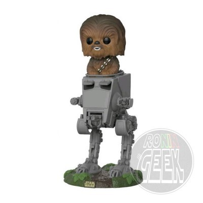 FUNKO POP! Star Wars - Chewbacca with AT-ST