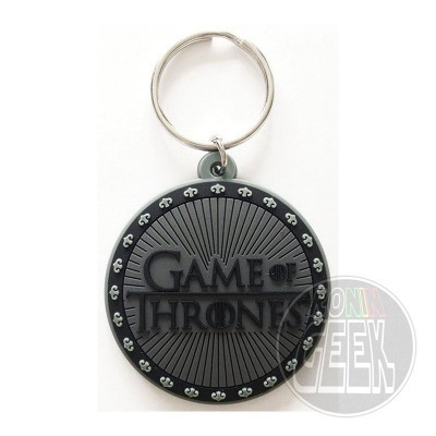 Game of Thrones Rubber Keychain Logo