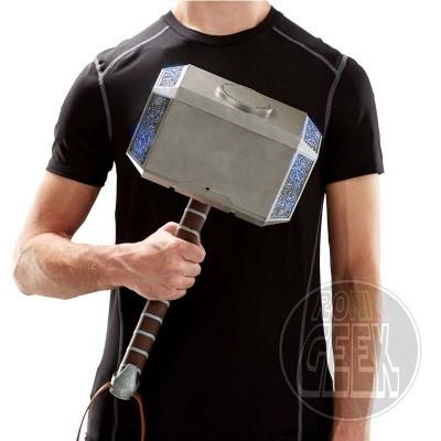 HASBRO Marvel Legends Electronic Thor Hammer Mjolnir