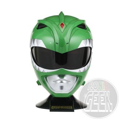 BANDAI Power Rangers Legacy Cosplay Replica 1/1 Green Ranger Helmet