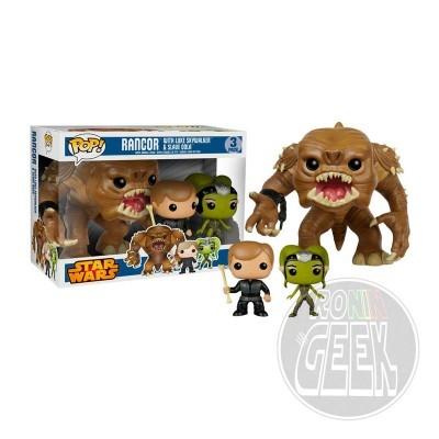 FUNKO POP! Star Wars Rancor - Jedi Luke - Slave Oola