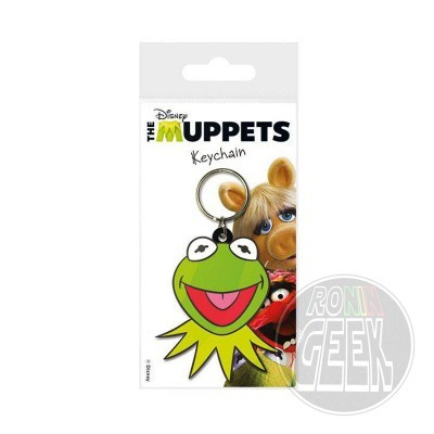 The Muppets Rubber Keychain Kermit