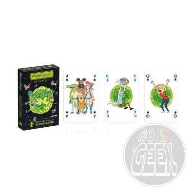 Rick & Morty Number 1 Playing Cards