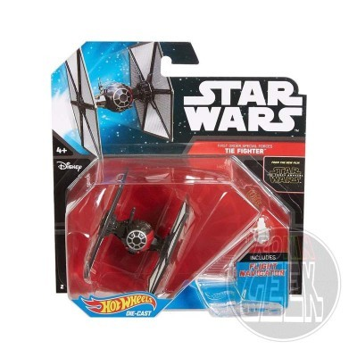 Hot Wheels Star Wars First Order Special Forces Tie Fighter