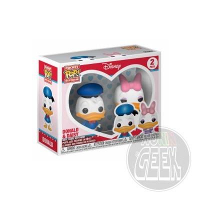 FUNKO POP! Keychain: Disney - Donald & Daisy (2-Pack)