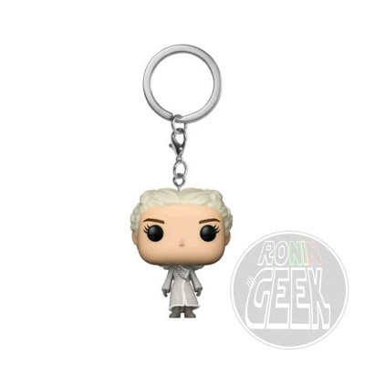 FUNKO POP! Keychain: Game of Thrones Daenerys (White Coat)