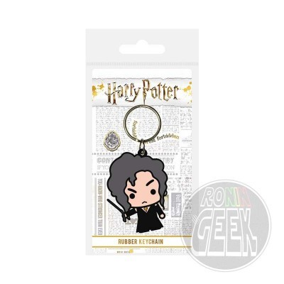 Harry Potter Bellatrix Lestrange rubber keychain