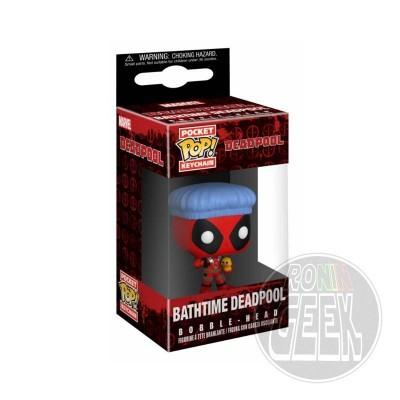 FUNKO POP! Keychain: Marvel  - Deadpool Bathtime