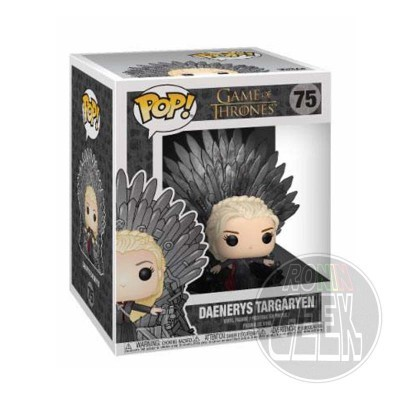 FUNKO POP! Game of Thrones - Daenerys Targaryen on Iron Throne