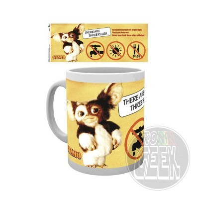 Caneca Gremlins Three Rules