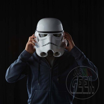 HASBRO Star Wars Rogue One Black Series Electronic Voice Changer Helmet Imperial Stormtrooper
